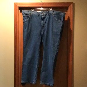 Lee Big Tall Regular Fit Straight Leg Jeans 50x29